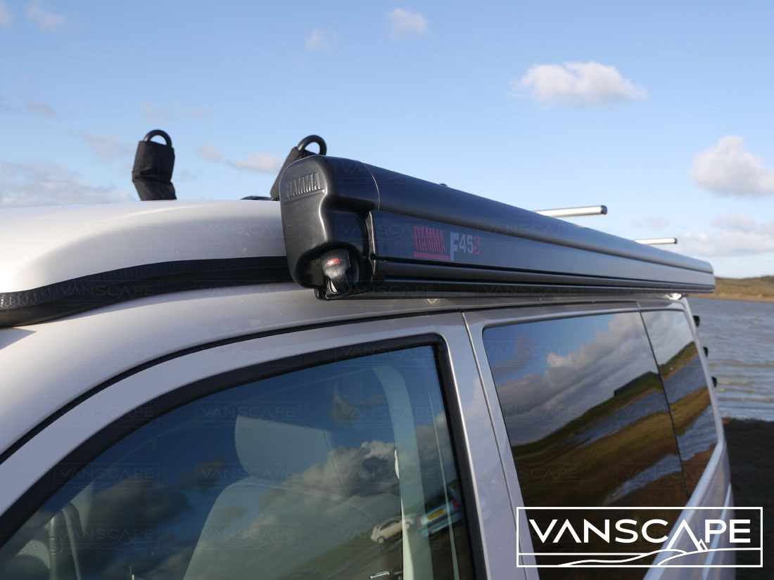 Fitted Vw T5 T6 Lwb Canopy Awning Fiamma F45s 300 Black