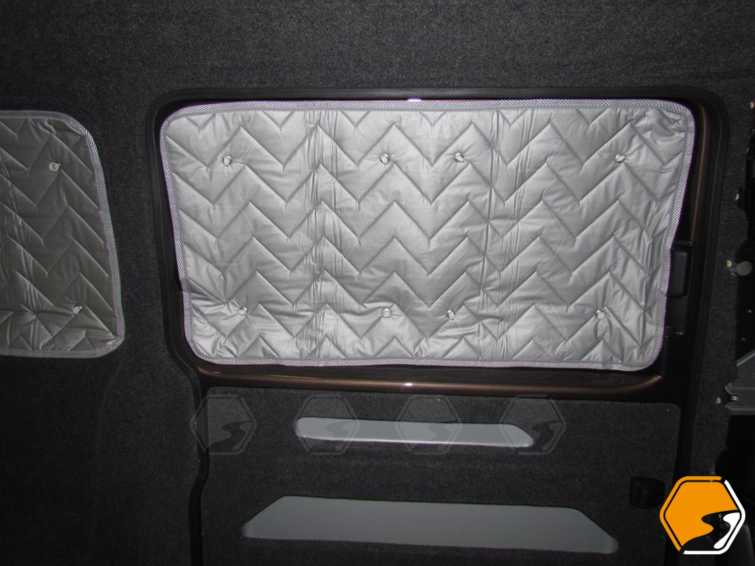Vw T5 T6 Transporter O S Or N S Middle Silver Window Foil