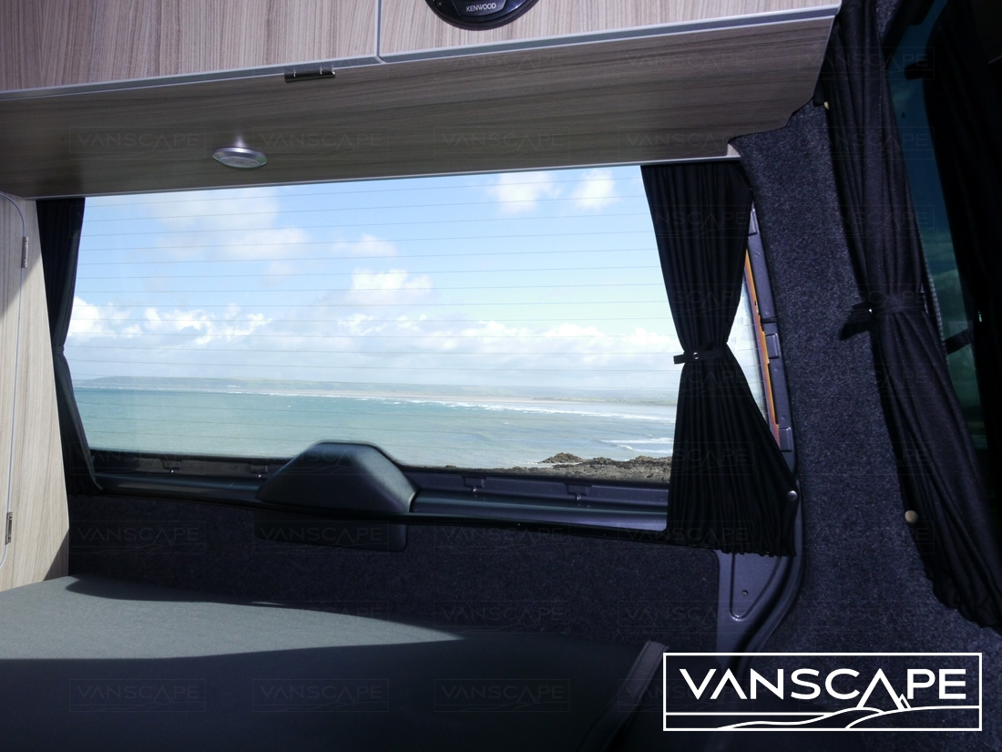 Fitted Vw T5 T6 Transporter Blackout Curtain Rear Barn