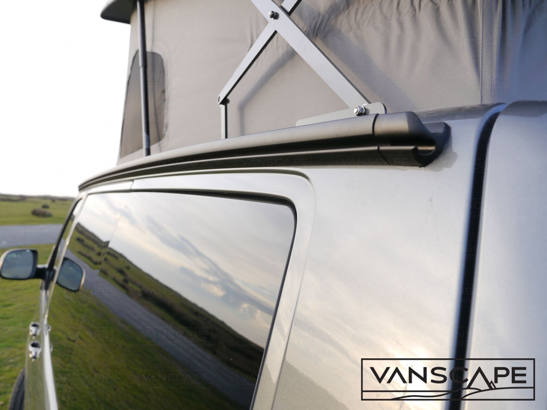 CAMPERVAN AWNING RAIL VW Transporter T4, T5, T6 SWB FITTED ...
